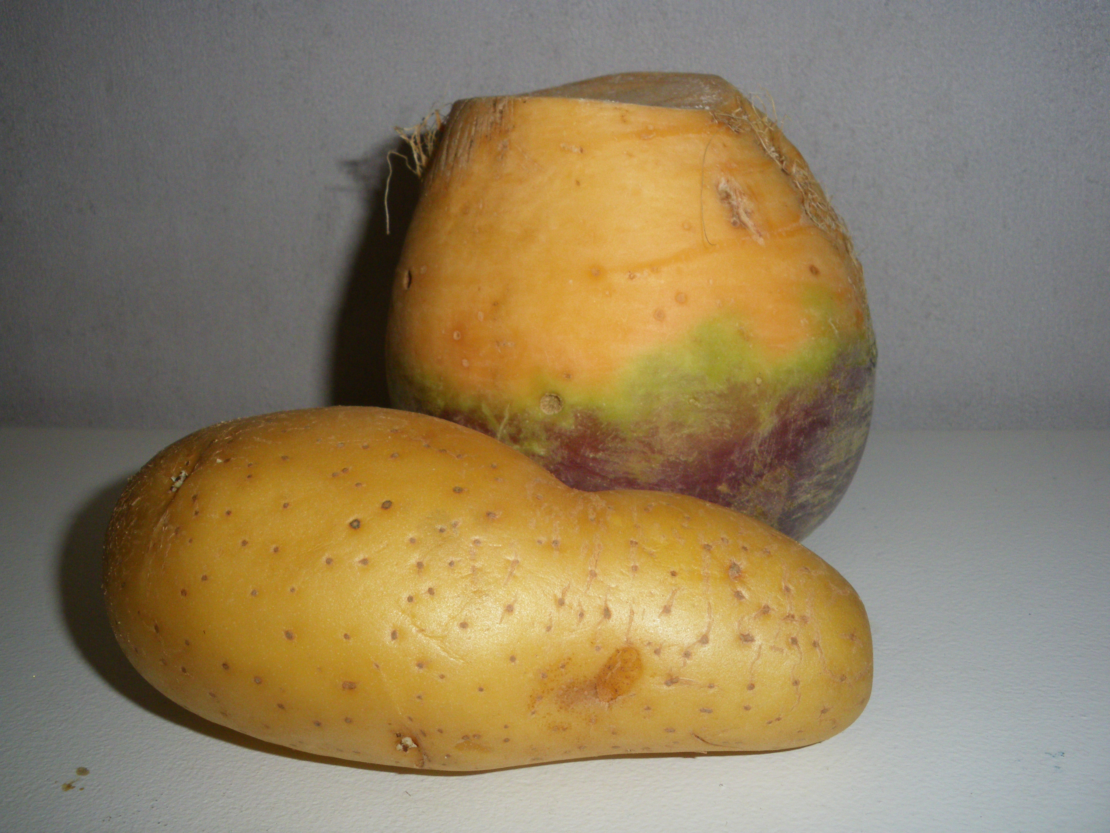 Rutabaga pomme de terre