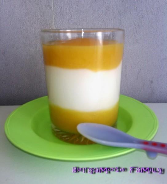 délice d'abricot à la fleur d'oranger