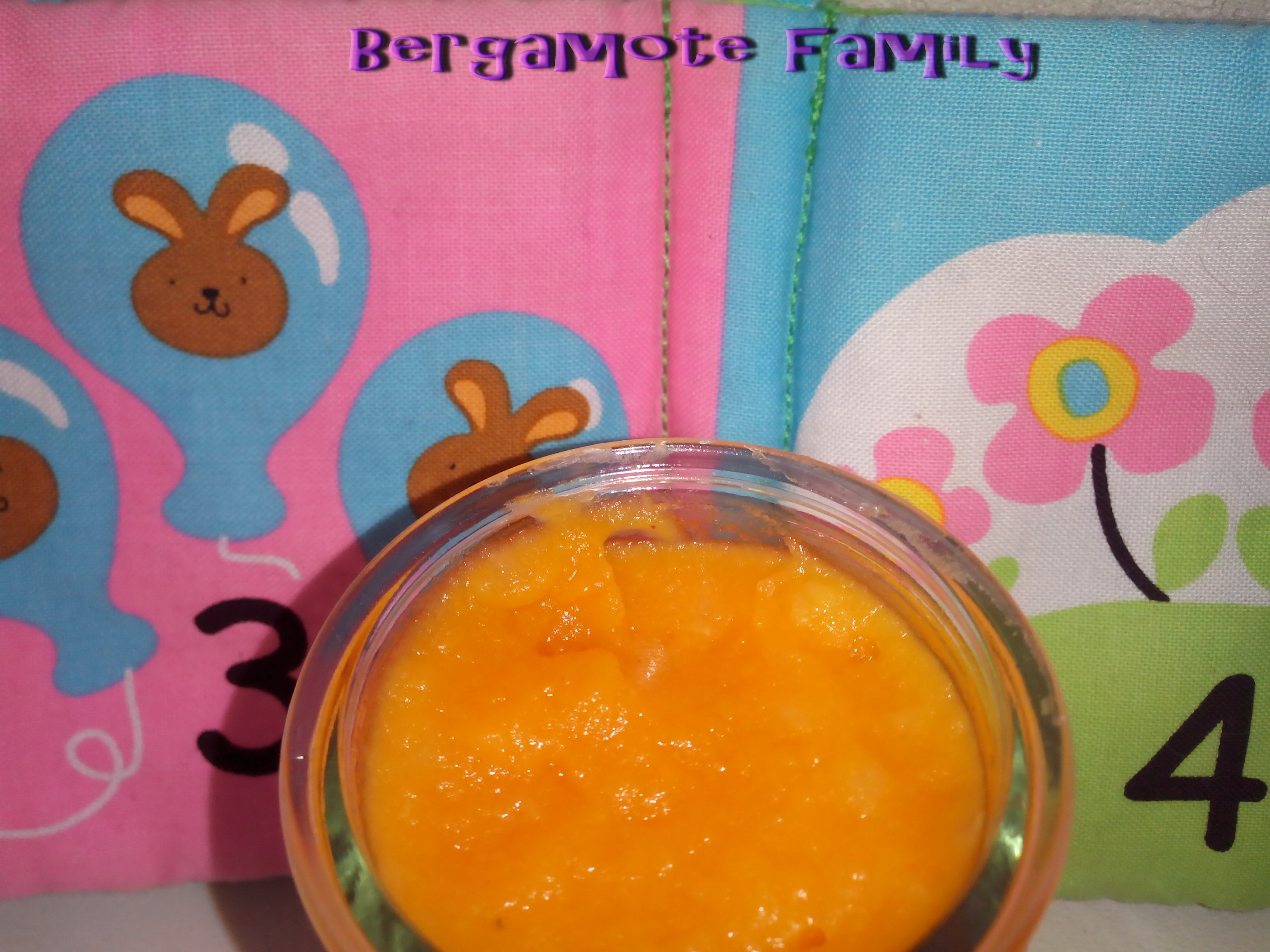 compote patate douce pomme cannelle