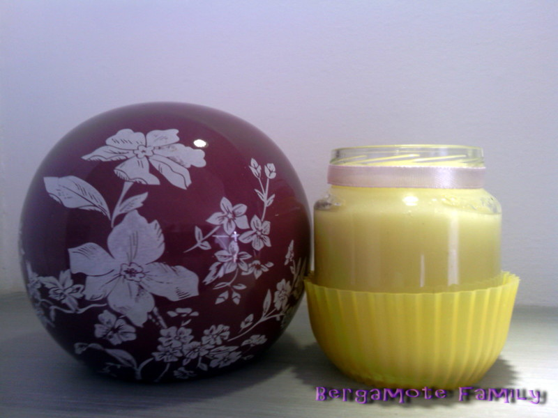 compote de pomme et ananas bébé - bergamote family