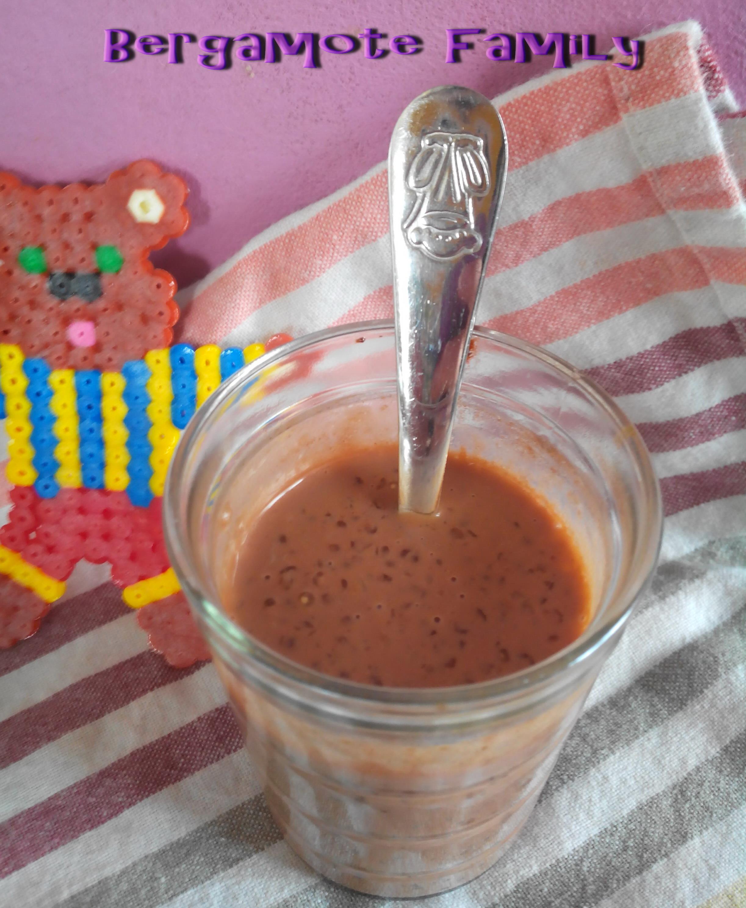 crème tapioca nutella