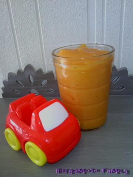 purée navet carotte PDT basilic