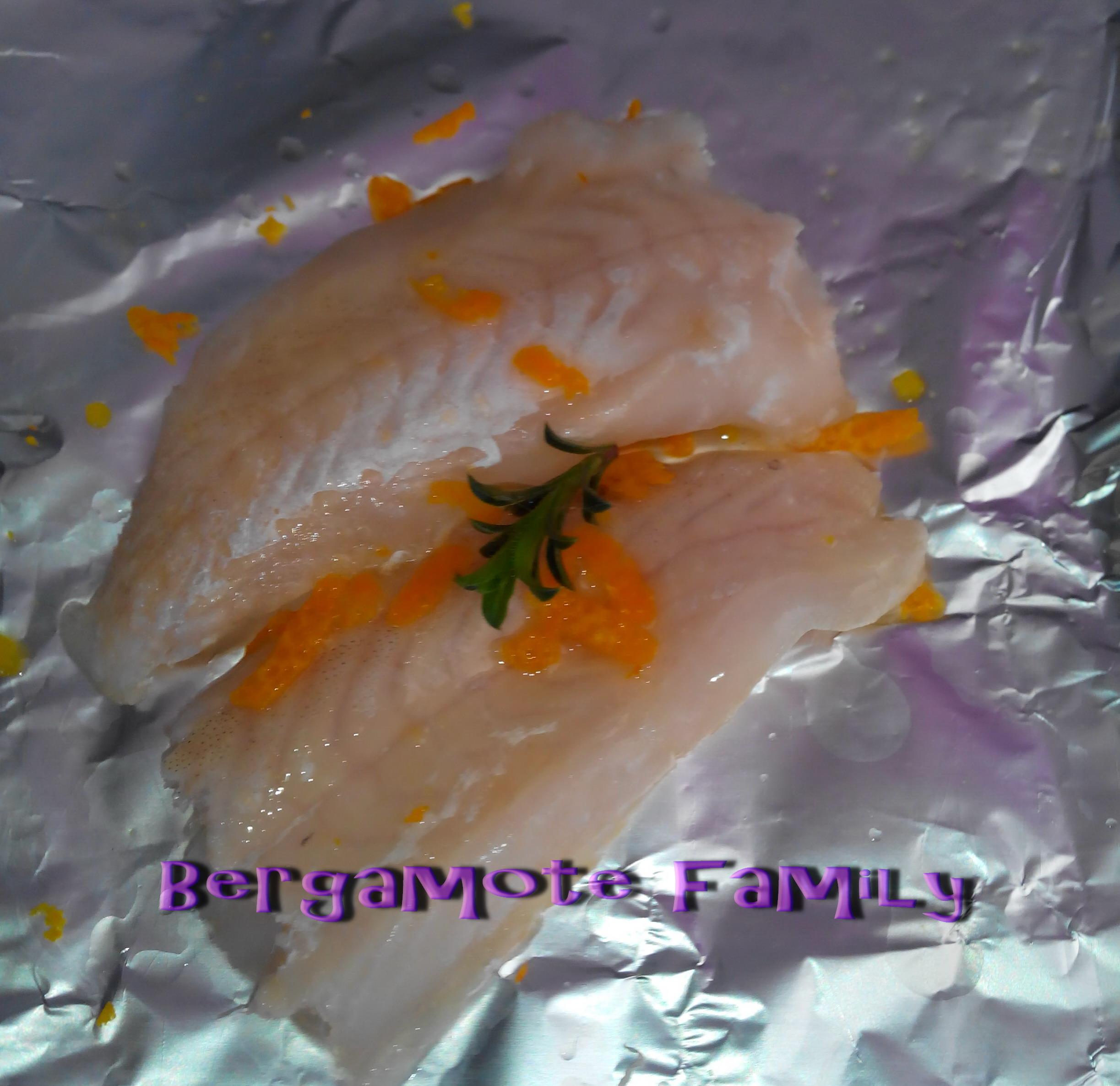 orange orangé papillotte