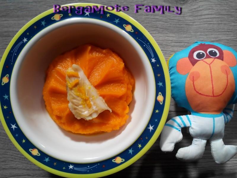 Plat orange orangé