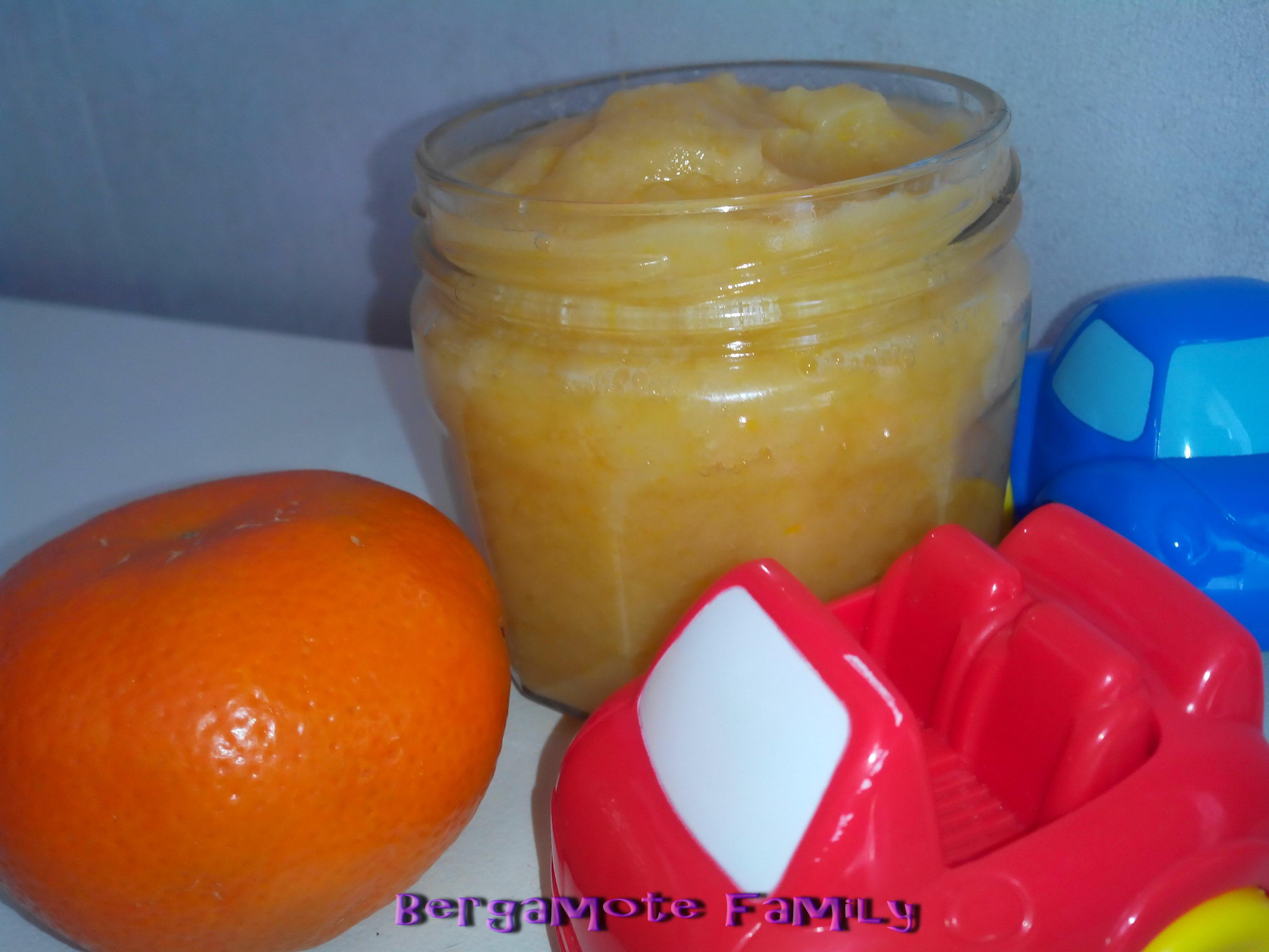 poire clementine vanille
