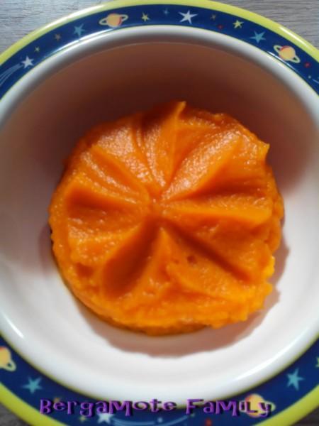 purée patate douce carotte