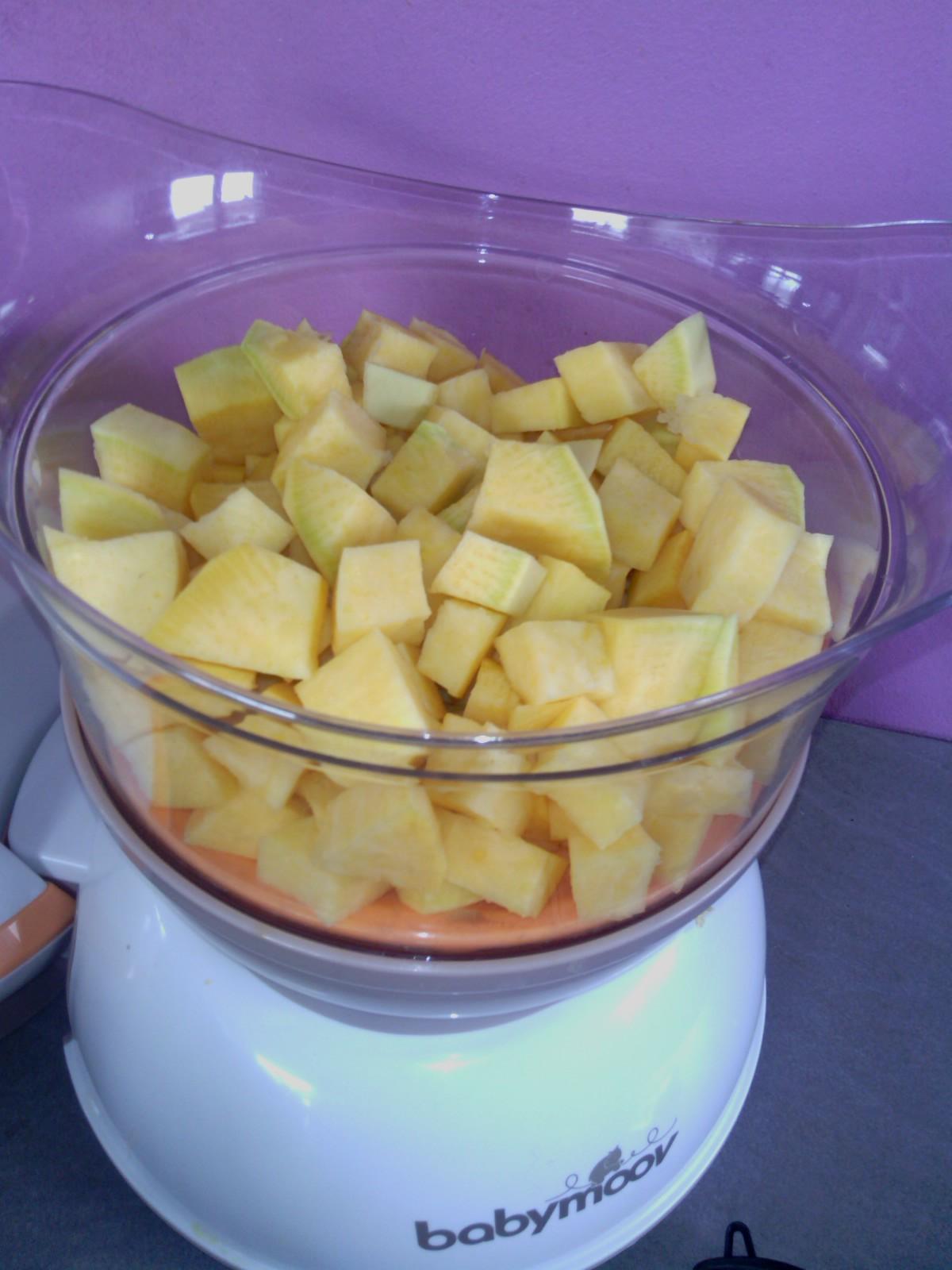Rutabaga avant cuisson