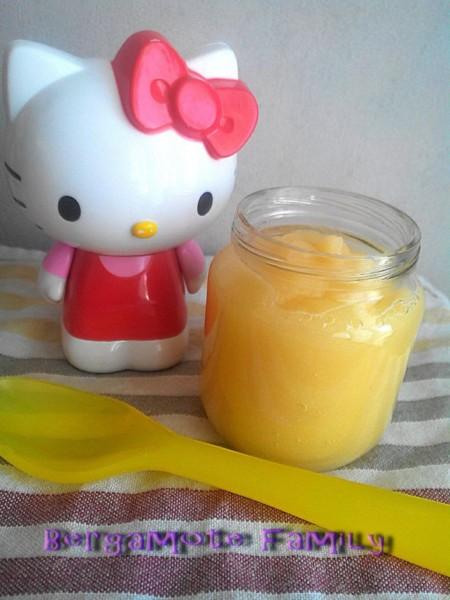 compote de melon jaune pomme et vanille d s 8 mois bergamote family. Black Bedroom Furniture Sets. Home Design Ideas