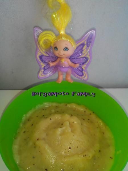 compote pomme kiwi fleur d oranger