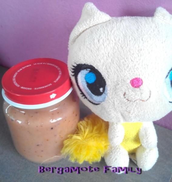 compote de fraise kiwi poire