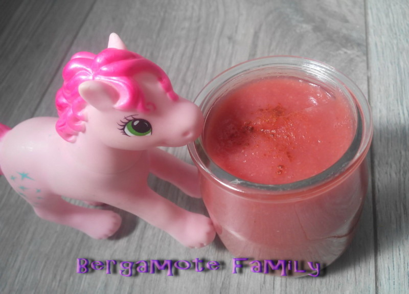 compote pomme cerise cannelle