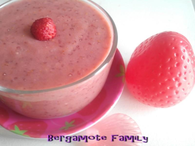 délice de fraise des bois au thym