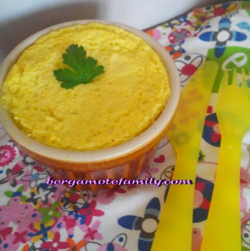 flan de courgette jaune ( bébé dès 12 mois)