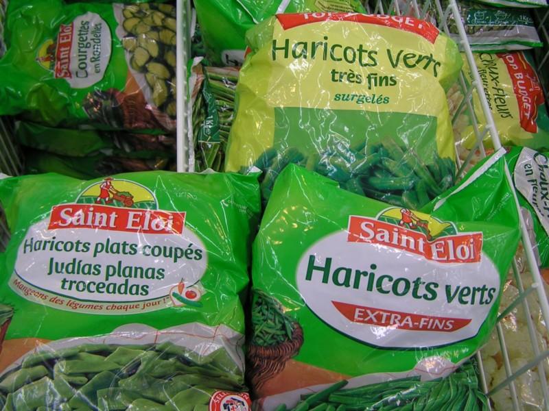 Cuisiner pour b b utilisation des produits surgel s - Cuisiner haricots verts surgeles ...