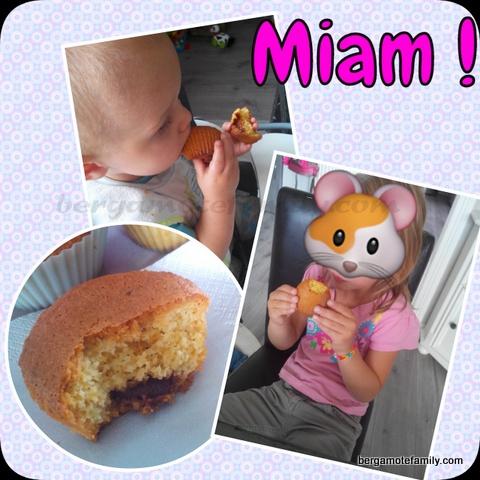 muffins coco choco dégustation