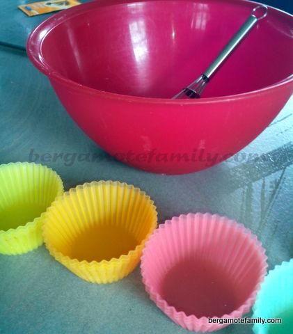préparation muffins