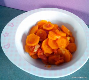 ragoût de carotte tomate