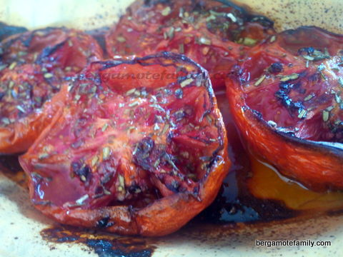 tomates caramélisées 4