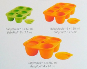 Babymoule Mastrad Baby - Différents volumes