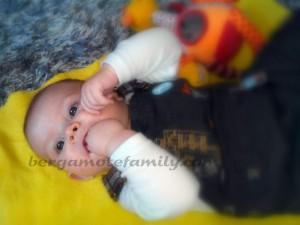 bébé bergamote 4 mois