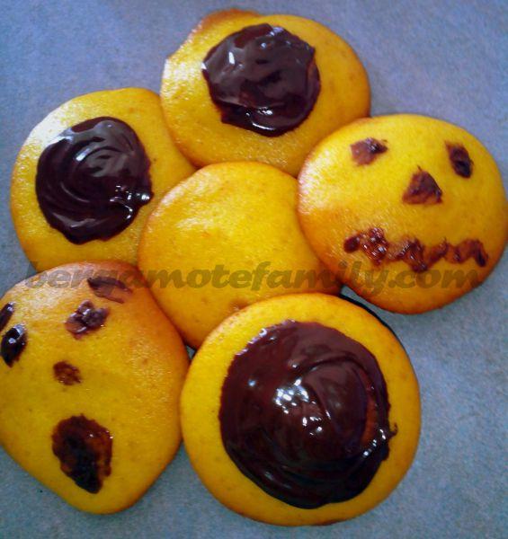 biscuits maudits d'Halloween