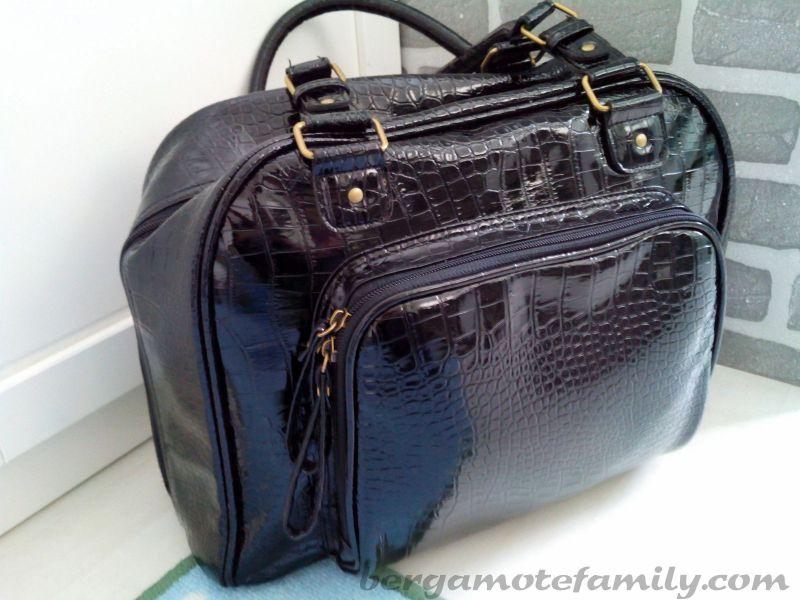 mon croco bag ou quand mon sac langer devient sac. Black Bedroom Furniture Sets. Home Design Ideas