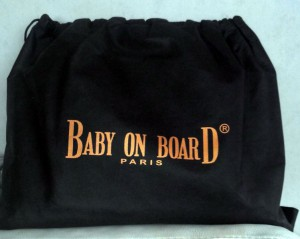 Pochette du Croco Bag -Baby On Board