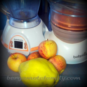 Préparation pomme coing - Bergamote Family