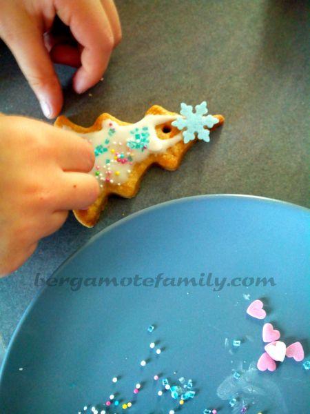décoration biscuits de Noël