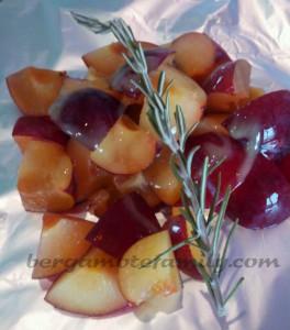 prune au miel et romarin 1