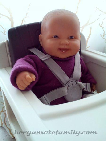 La chaise haute volutive zaaz de nuna pour b b - A quel age met on bebe dans une chaise haute ...