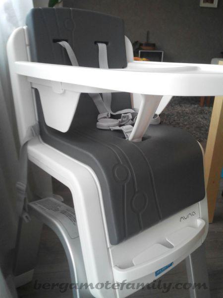 la chaise haute volutive zaaz de nuna pour b b. Black Bedroom Furniture Sets. Home Design Ideas