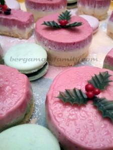 Noel dessert bergamote