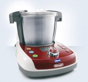 robots de cuisine pour bébé : babymeal delonghi cicco