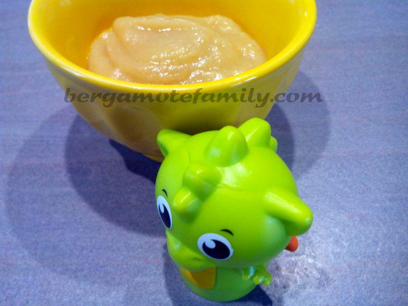 compote nashi kaki miel 2