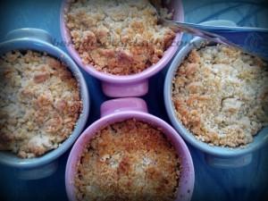 crumble nashi x4- Bergamote family