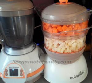 cuisson manioc et patate douce - bergamote Family