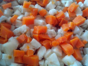 manioc et patate douce cuits - Bergamote Family