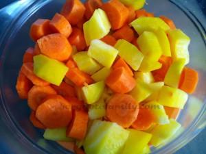 purée betterave jaune carotte préparation - bergamote Family