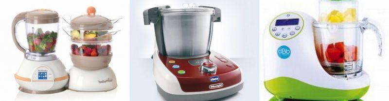 Les gros robots de cuisine pour bébé