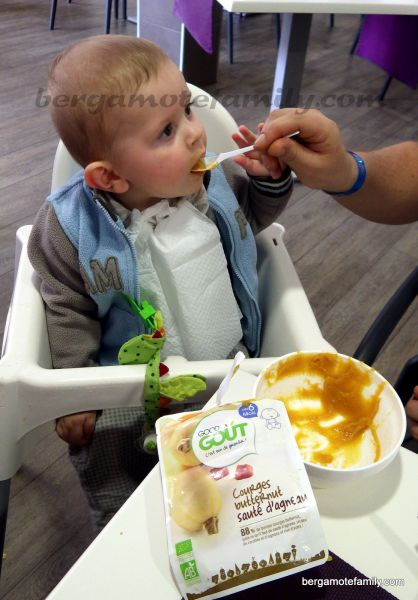 dégustation good goût par bébé bergamote