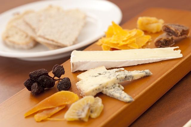 plateau de fromages - diversification alimentaire bébé