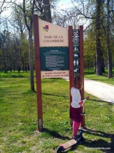 parc colombière dijon - bergamote family