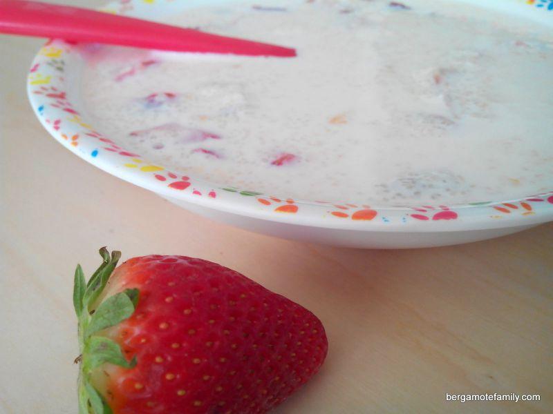 floraline fraise - bergamote family