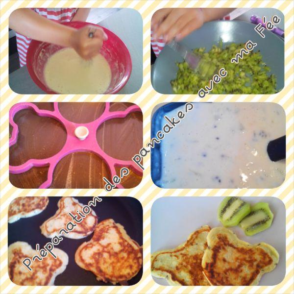 pancakes au kiwi 2 - bergamote family