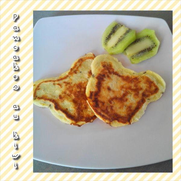 pancakes au kiwi - bergamote family