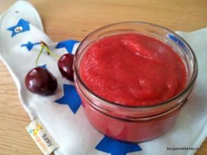 compote poire cerise - bergamote family