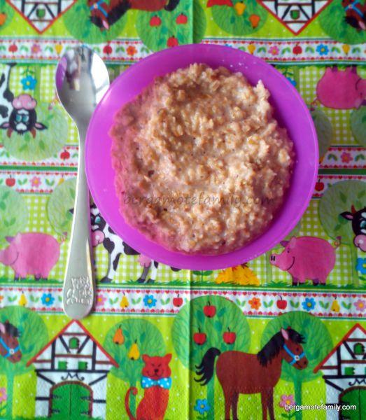 porridge bébé miel cannelle - bergamote family (2)