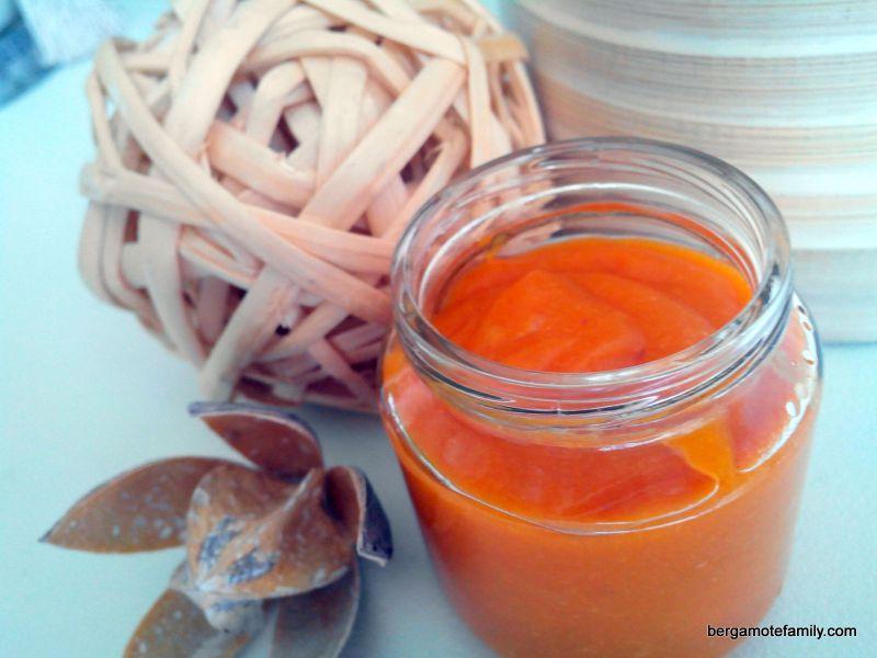 compote pêche abricot - bergamote family (5)