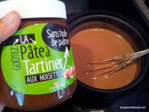 crème pâte à tartiner - bergamote family